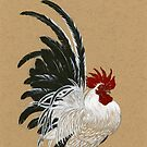 Japanese Bantam Rooster by Himmapaan