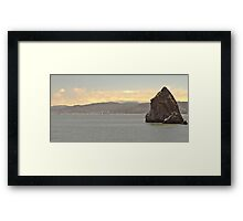 Rock at San Francisco Framed Print
