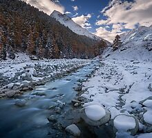 Chilly River by Dominique Dubied