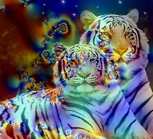 White Tigers by Brian Exton