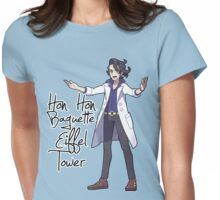 Hon Hon Baguette Eiffel Tower Womens Fitted T-Shirt