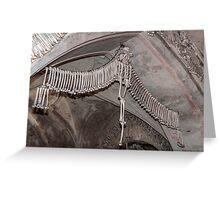 Human bones. Greeting Card