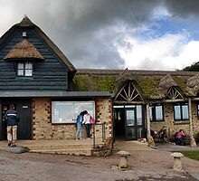 Branscombe Beach Cafe - Branscombe,Devon UK by lynn carter