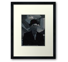 Smart / Casual Framed Print
