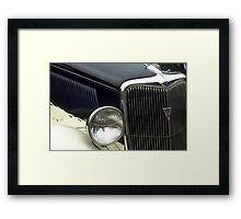 Vintage Antique Car Automobile  Framed Print