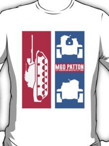 Tank - M60 Patton (1st Generation Main Battle Tank) T-Shirt