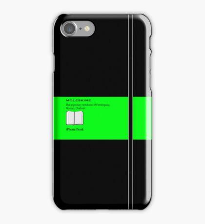 Moleskine Green iPhone Case/Skin