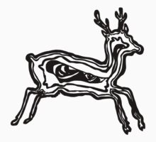 LINEart T-shirt : Deer by LINEart