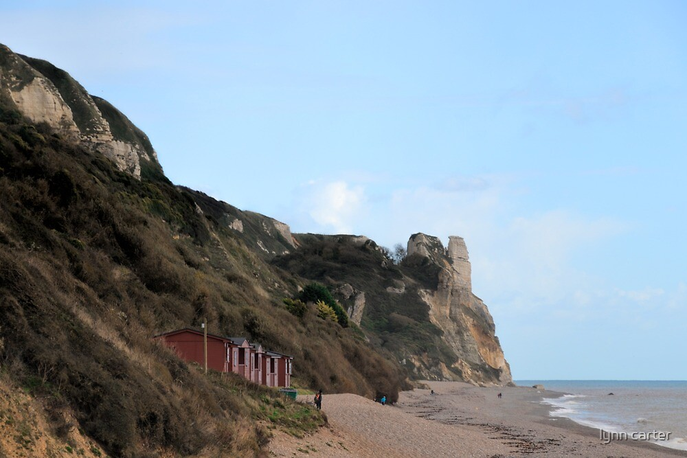 Branscombe Beach 1 by lynn carter