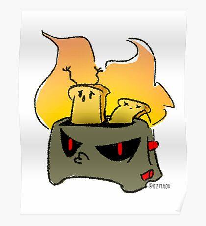 Evil toaster Poster