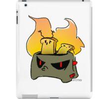 Evil toaster iPad Case/Skin