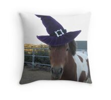 Wizard Razzy Throw Pillow