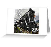 Locomotive in Jasper National Park Greeting Card