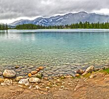 Maligne Lake, Jasper National Park by Gregory Dyer