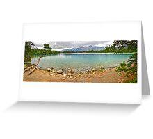 Maligne Lake, Jasper National Park Greeting Card