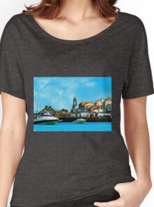 Swanage Sea View Women's Relaxed Fit T-Shirt