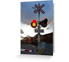 Along the Rails, Kamloops Greeting Card