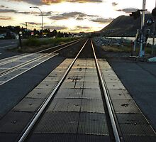 Along the Rails, Kamloops by Gregory Dyer