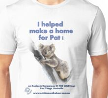 Make a Home for Pat - light background Unisex T-Shirt