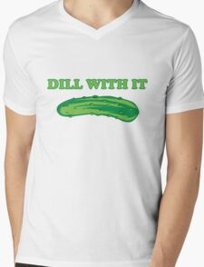 Dill with it Mens V-Neck T-Shirt