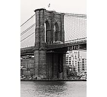 Brooklyn Bridge, New York City Photographic Print