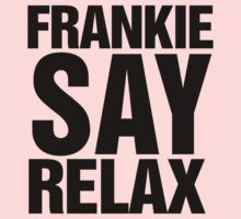 Frankie Say Relax 80's Retro Print Kids Clothes