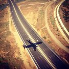 Plane Crossing by omhafez