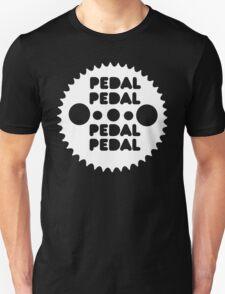 (MTB) Pedal (White) Unisex T-Shirt