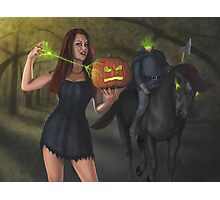 Witch of Sleepy Hollow Photographic Print