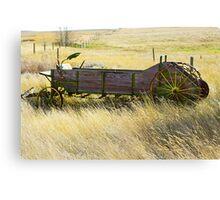 on the prairies Canvas Print