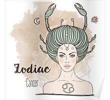 Zodiac Cancer Poster