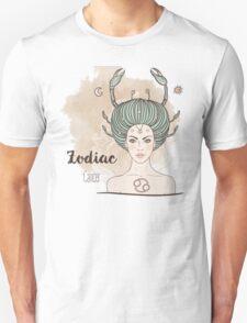 Zodiac Cancer Unisex T-Shirt