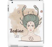 Zodiac Cancer iPad Case/Skin