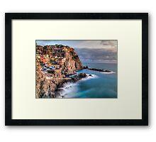 Manarola - Cinque terra Framed Print