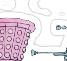 Dalek Love Sticker