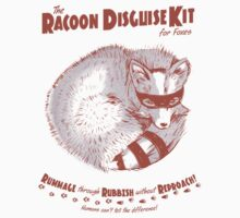 The Raccoon Disguise Kit for Foxes Kids Clothes