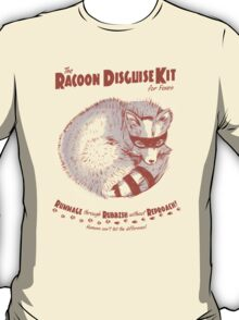 The Raccoon Disguise Kit for Foxes T-Shirt