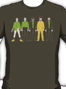 The Evolution of Walter White T-Shirt