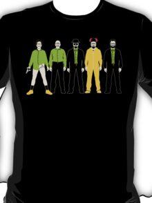 The Evolution of Walter White T-Shirt