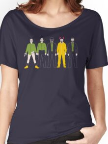 The Evolution of Walter White Women's Relaxed Fit T-Shirt