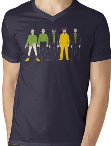 The Evolution of Walter White Mens V-Neck T-Shirt