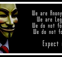 Anonymous, Expect Us by LisaTphoto