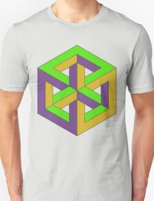 Penrose Cube - Secondary T-Shirt