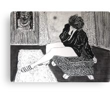 Life Drawing IMG-0845 Canvas Print