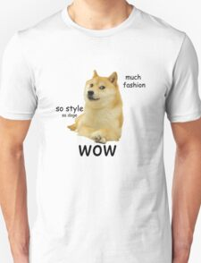 Doge shirt, wow Unisex T-Shirt