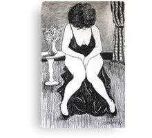 Life Drawing IMG-0850 Canvas Print