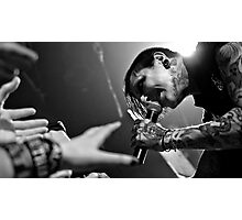 Motionless In White, Band Photographic Print