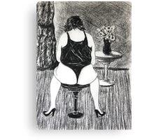 Life Drawing IMG-0854 Canvas Print