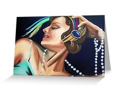 The Coquette Greeting Card