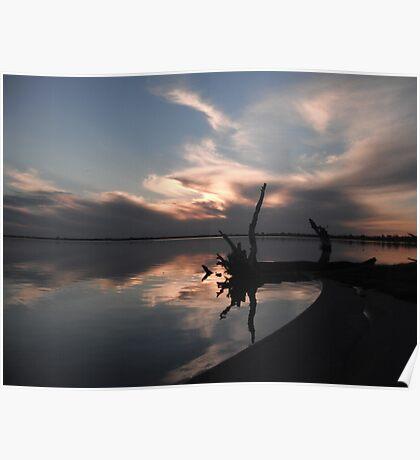 Lake Bonney, Barmera Poster